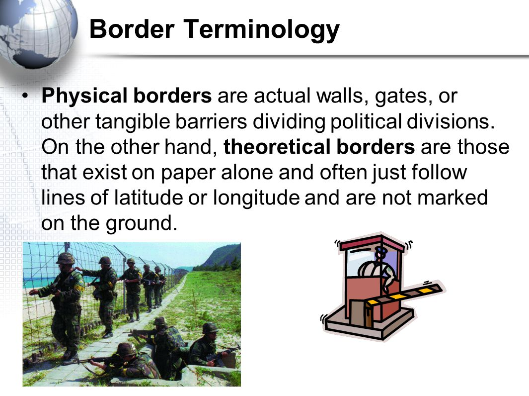 Border Terminology