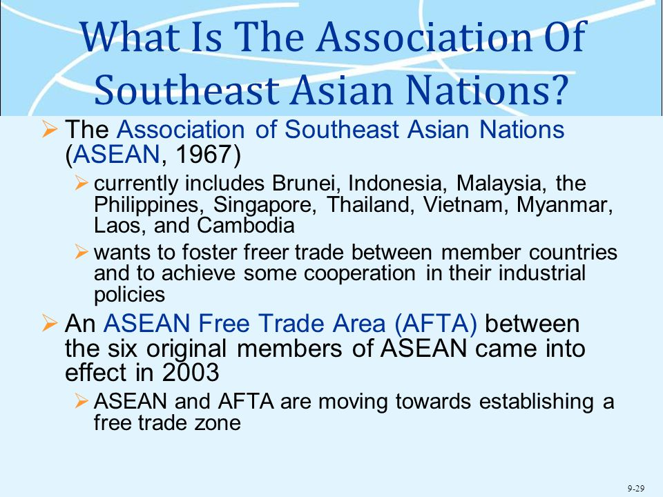 What Is The Association Of Southeast Asian Nations