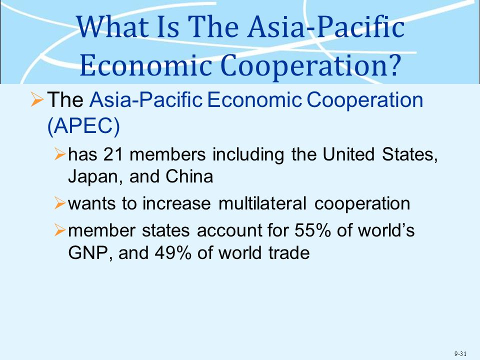 What Is The Asia-Pacific Economic Cooperation