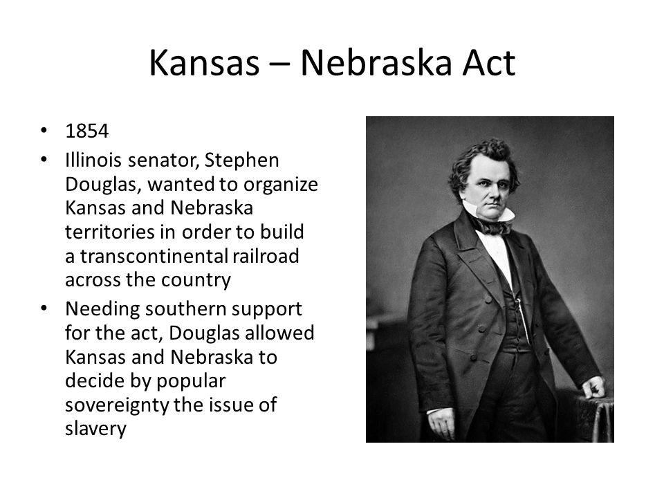 Kansas – Nebraska Act 1854.