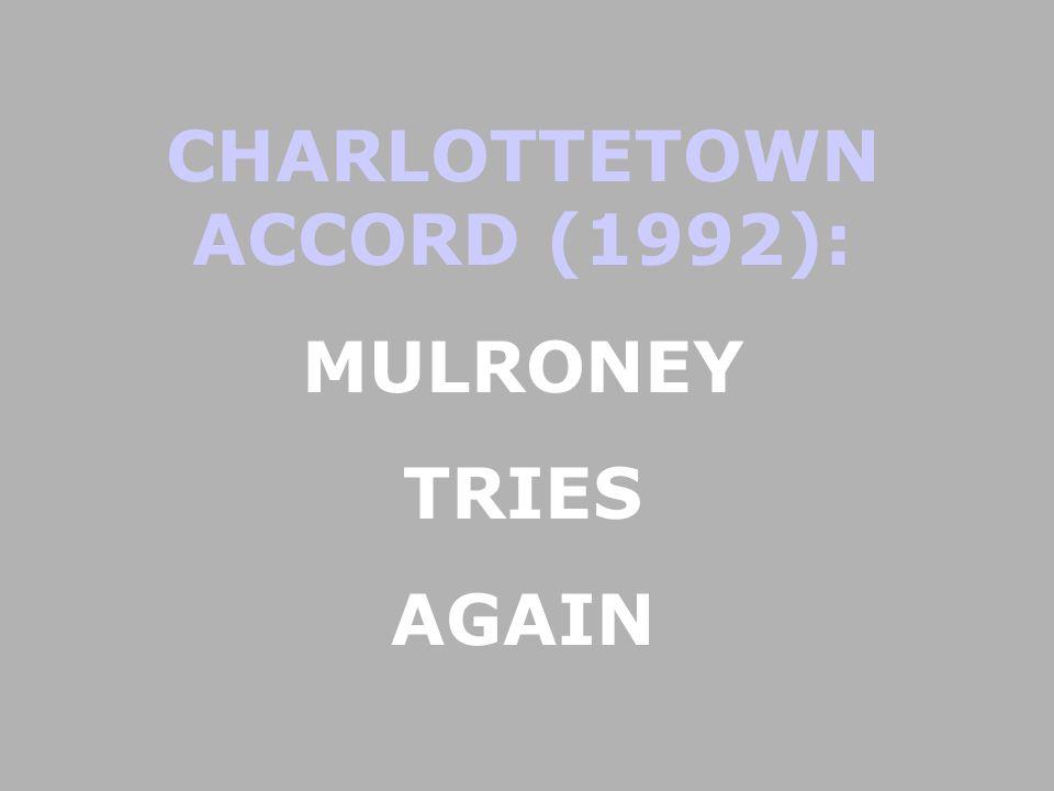CHARLOTTETOWN ACCORD (1992):