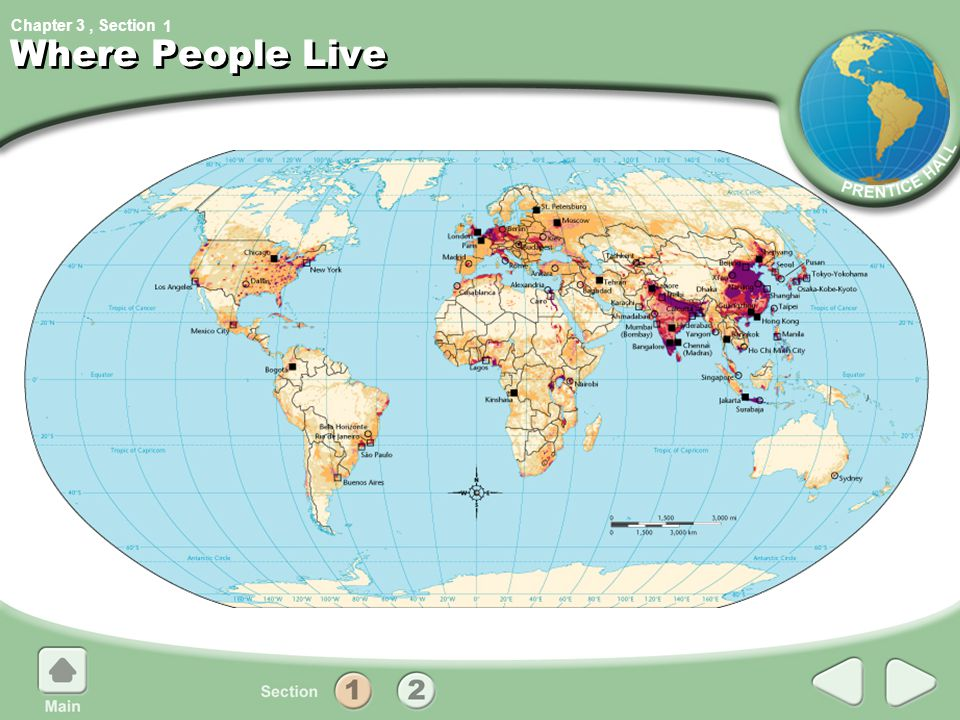 1 Where People Live