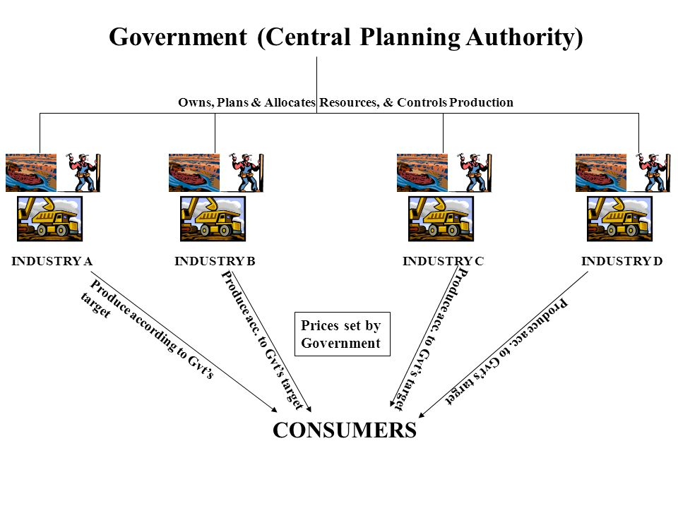Government (Central Planning Authority)