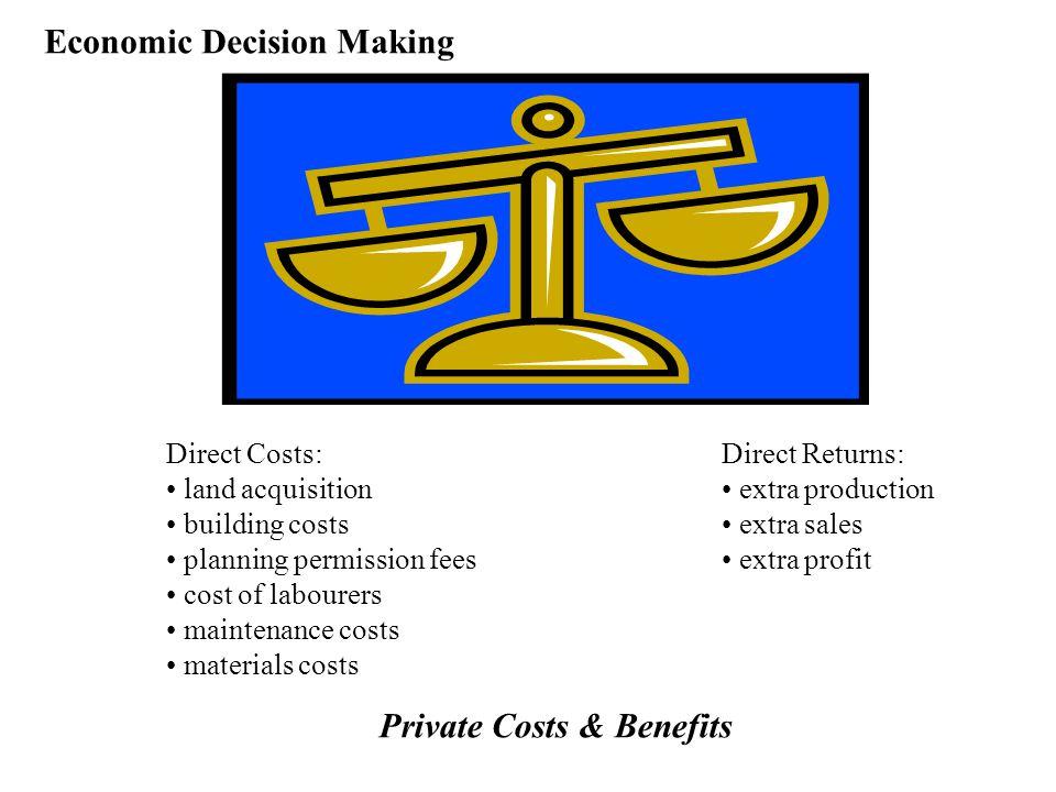 Economic Decision Making