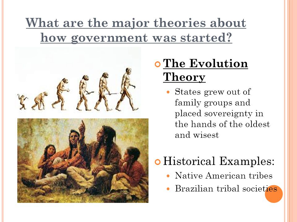 What are the major theories about how government was started