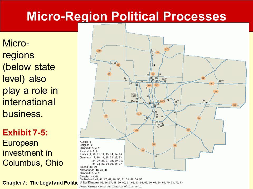 Micro-Region Political Processes