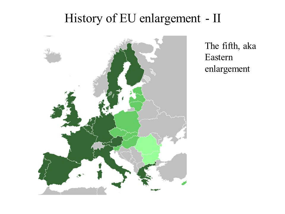 History of EU enlargement - II