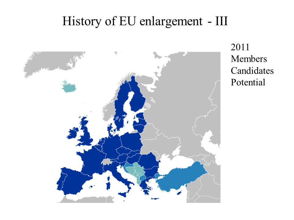 History of EU enlargement - III