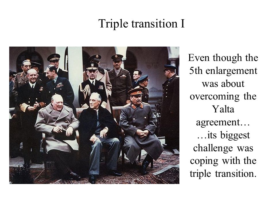 Triple transition I