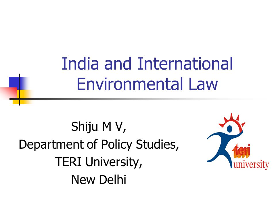 What Future for International Environmental Law?