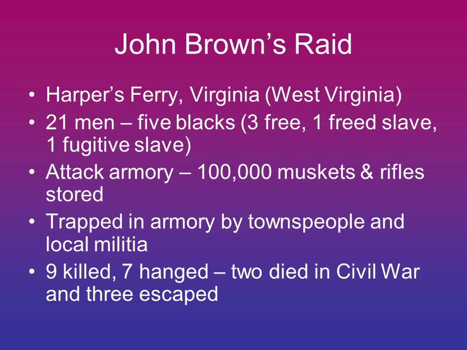 John Brown's Raid Harper's Ferry, Virginia (West Virginia)