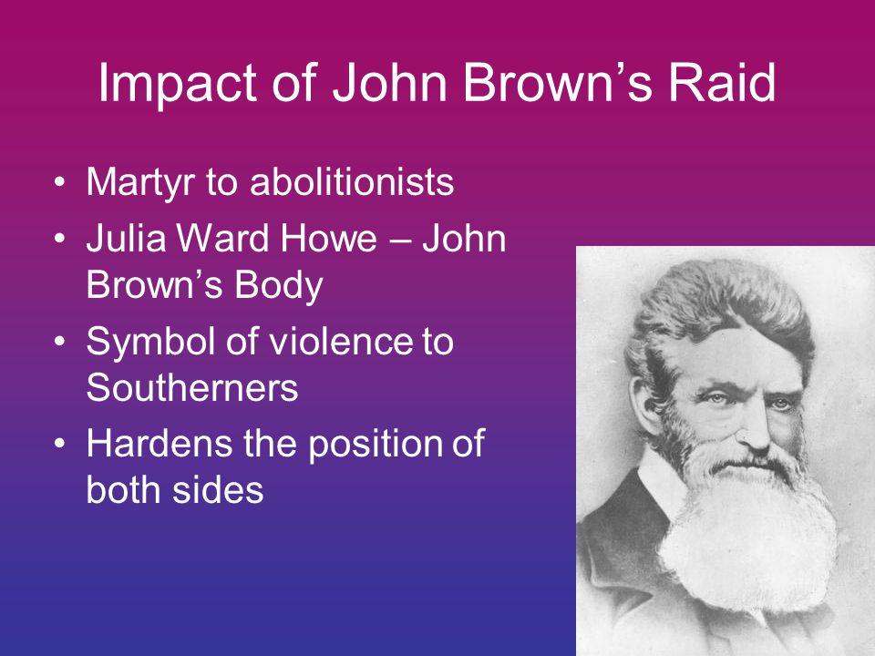 Impact of John Brown's Raid