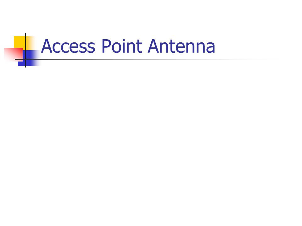 Access Point Antenna