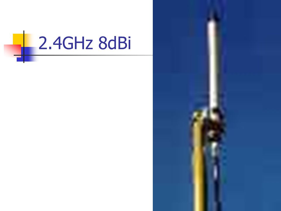 2.4GHz 8dBi