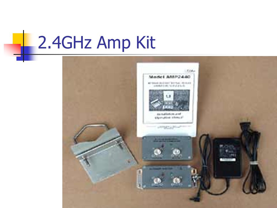 2.4GHz Amp Kit