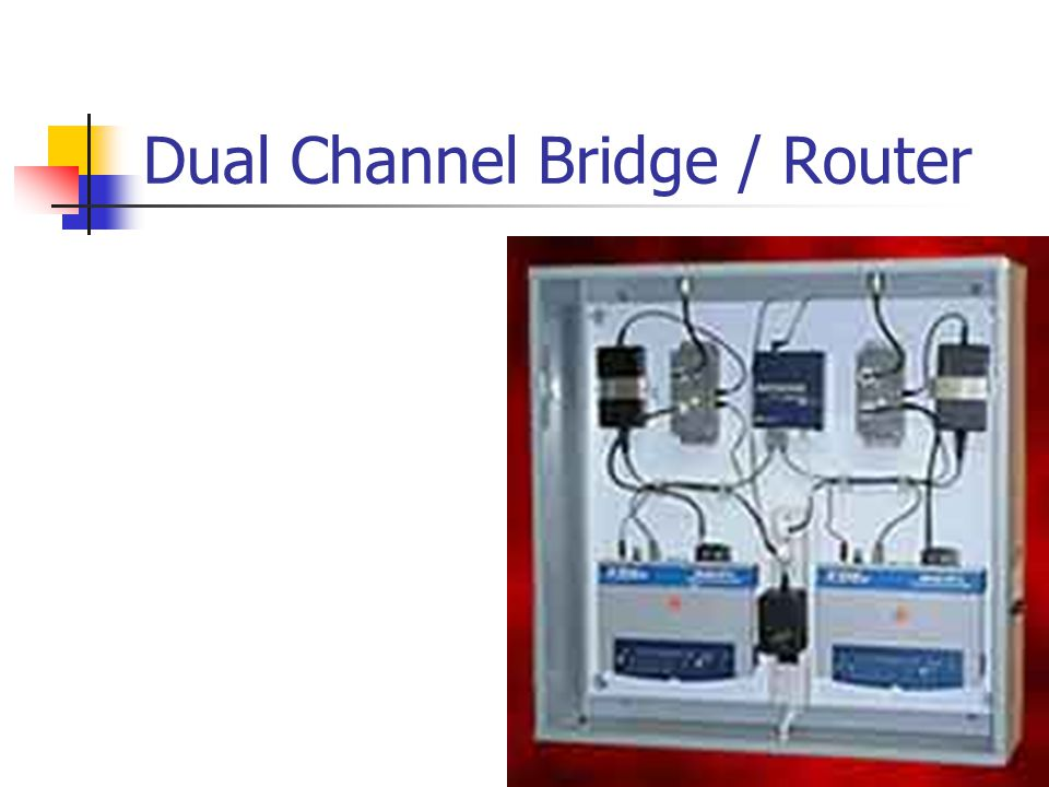 Dual Channel Bridge / Router