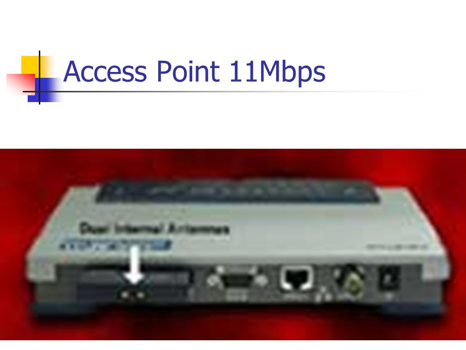 Access Point 11Mbps