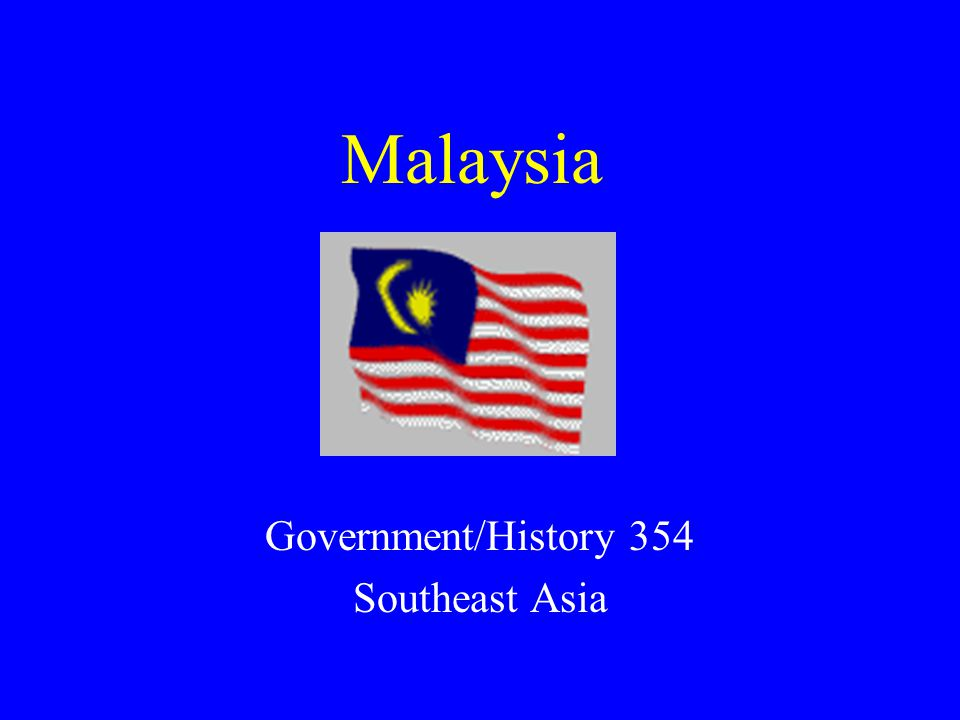 Government/History 354 Southeast Asia