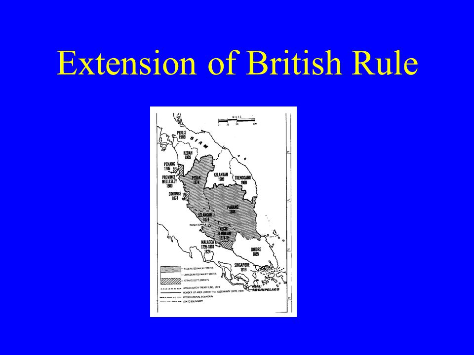Extension of British Rule