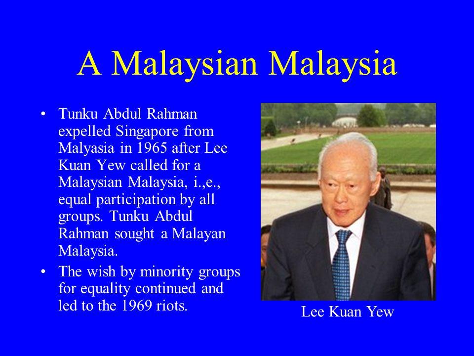 A Malaysian Malaysia