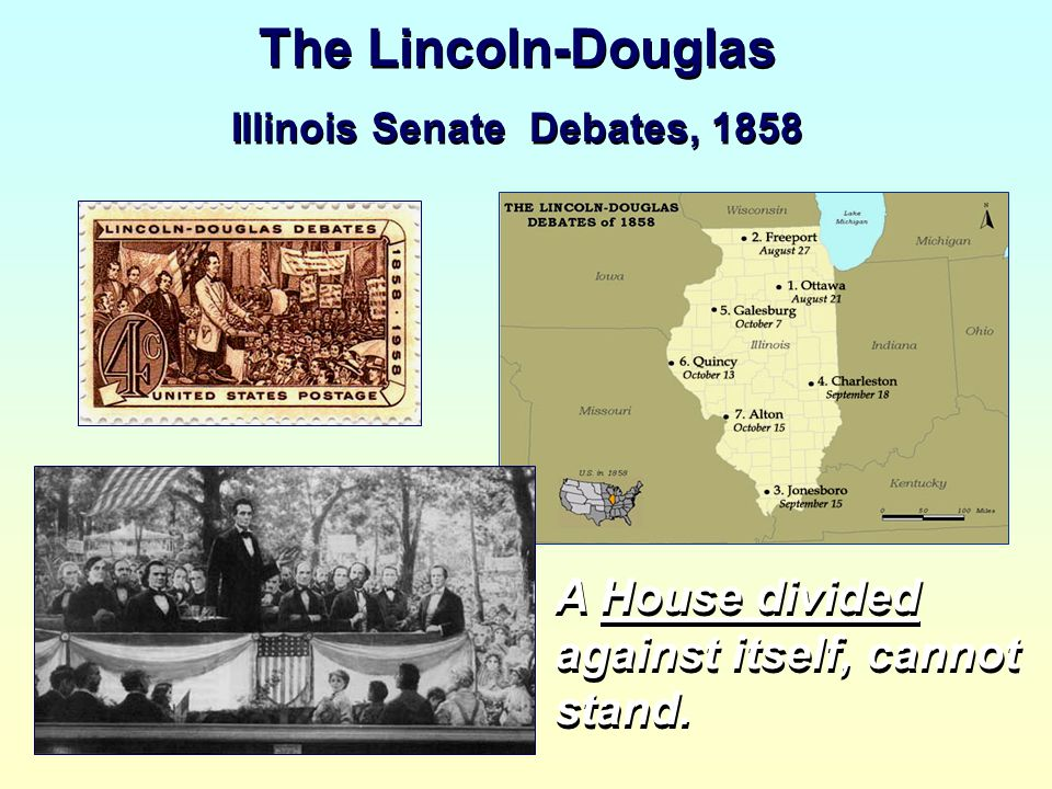 Illinois Senate Debates, 1858
