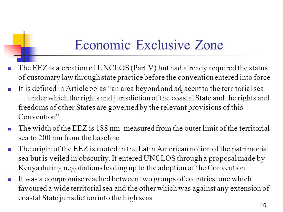 Economic Exclusive Zone