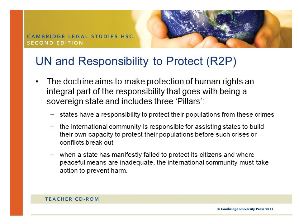 UN and Responsibility to Protect (R2P)