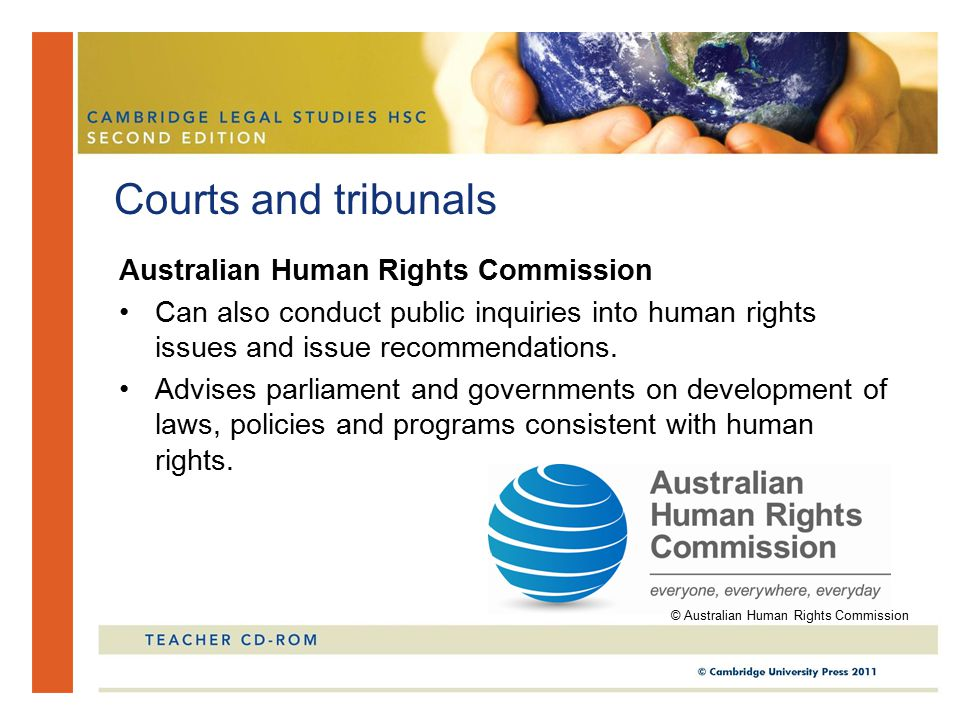 Courts and tribunals Australian Human Rights Commission