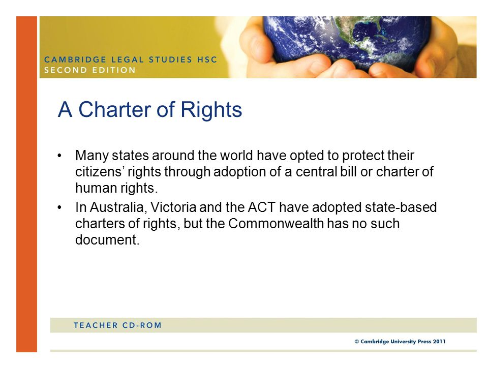 A Charter of Rights
