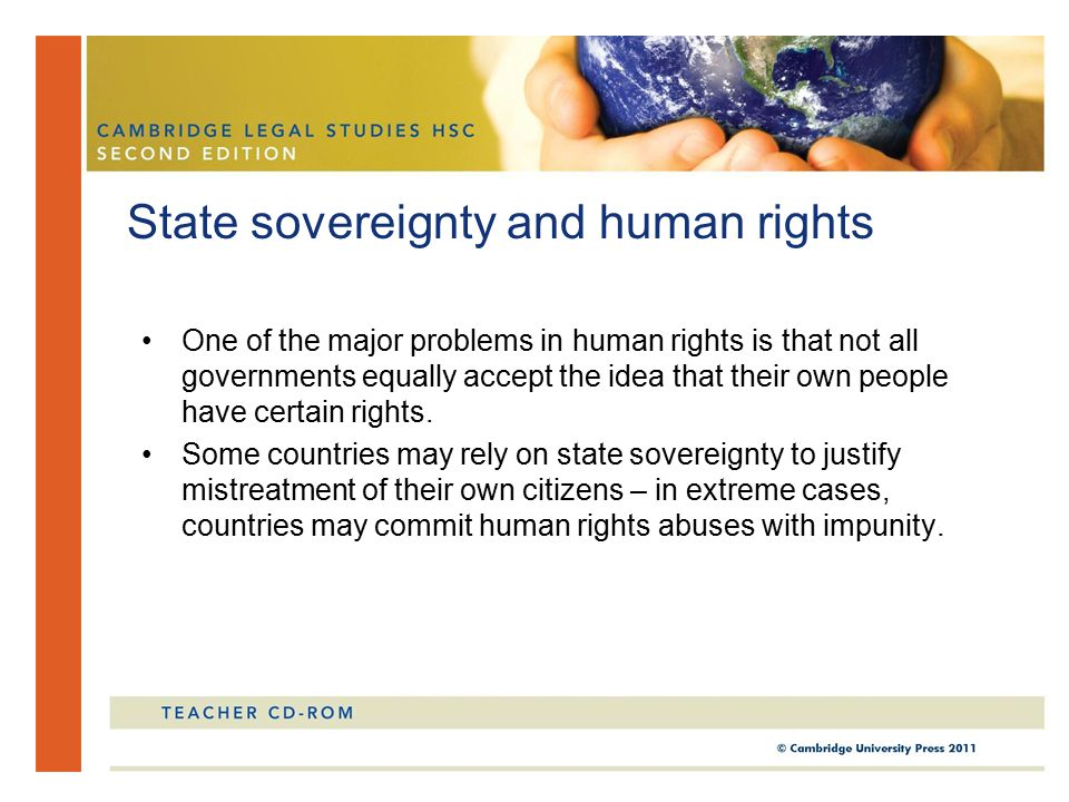 State sovereignty and human rights
