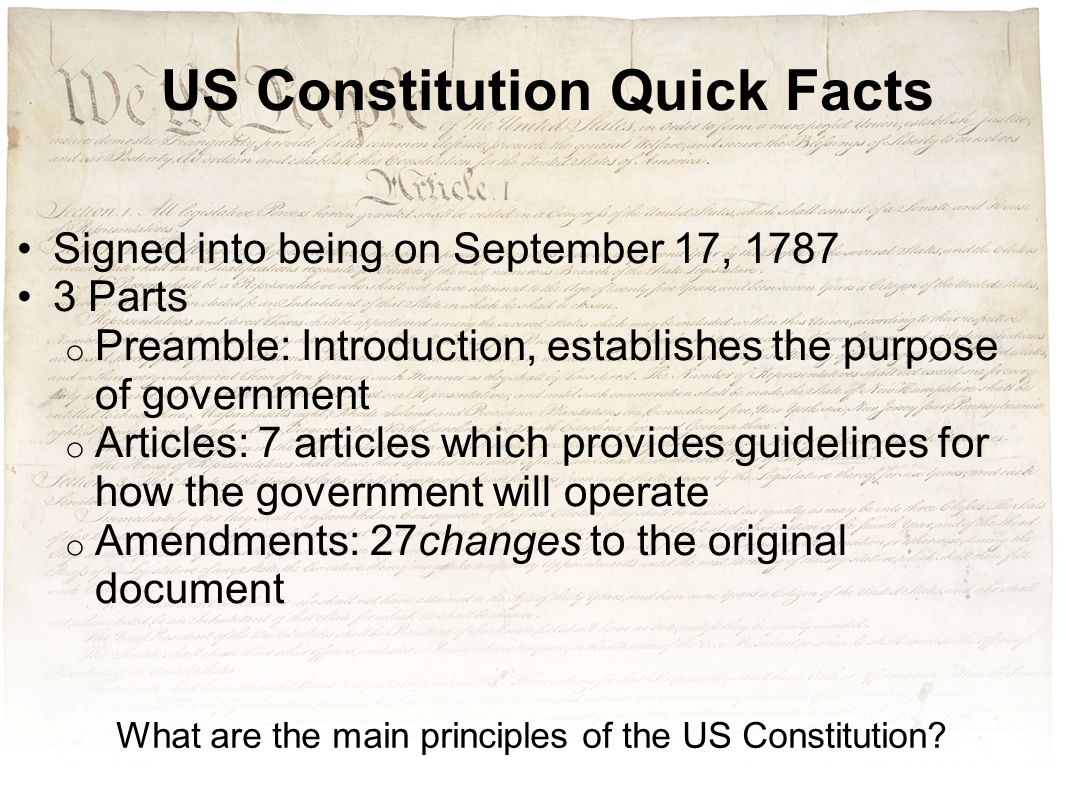 what can be the actual functionality about that posts in the particular usa constitution