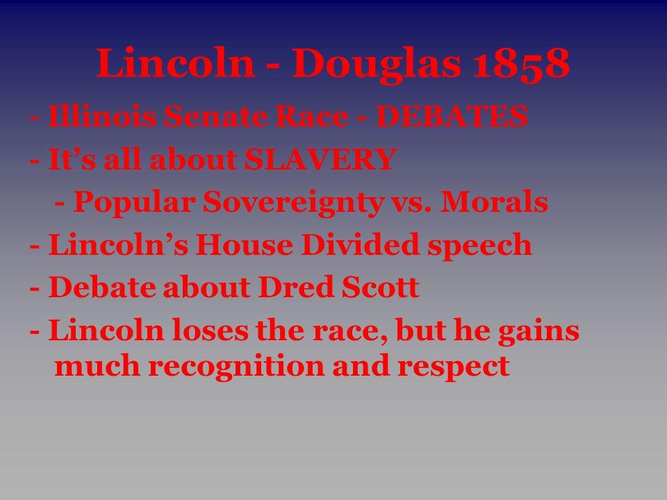 Lincoln - Douglas 1858 - Illinois Senate Race - DEBATES