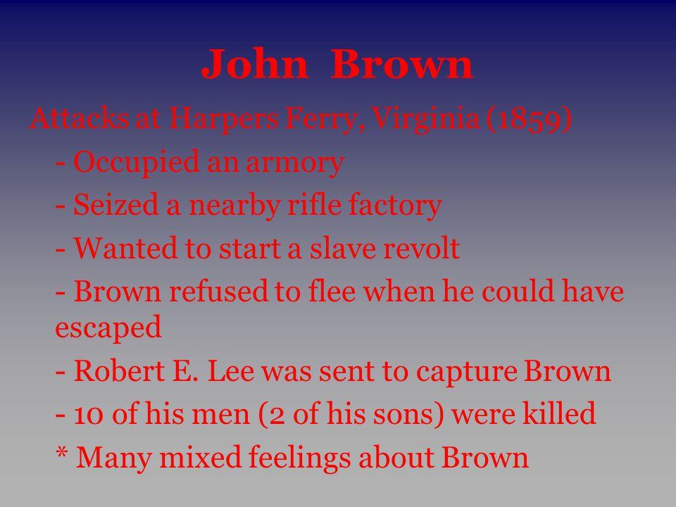 John Brown Attacks at Harpers Ferry, Virginia (1859)