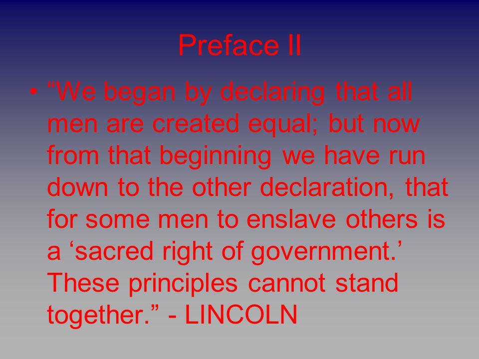 Preface II