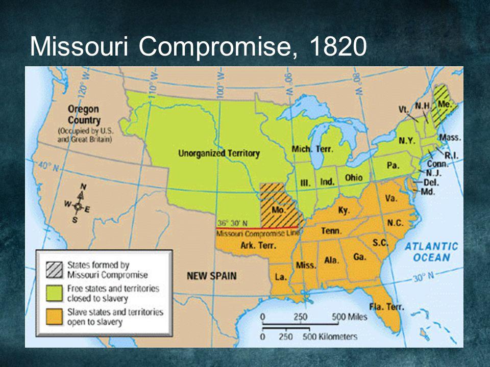 Missouri Compromise, 1820