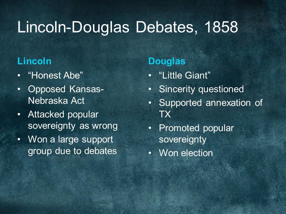 Lincoln-Douglas Debates, 1858