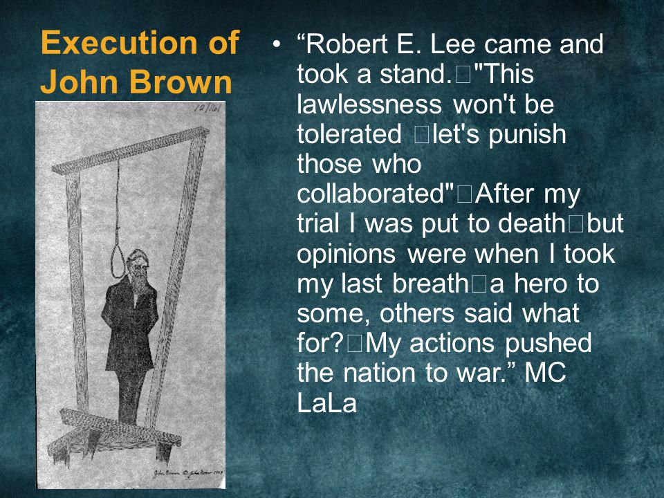 Execution of John Brown