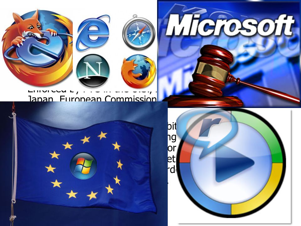Antitrust Laws are designed to combat restrictive business practices and to encourage competition.