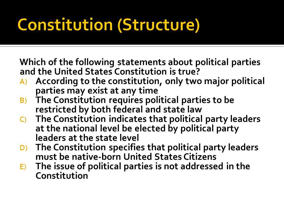Constitution (Structure)
