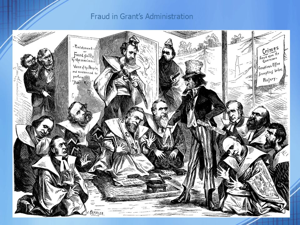 Fraud in Grant's Administration