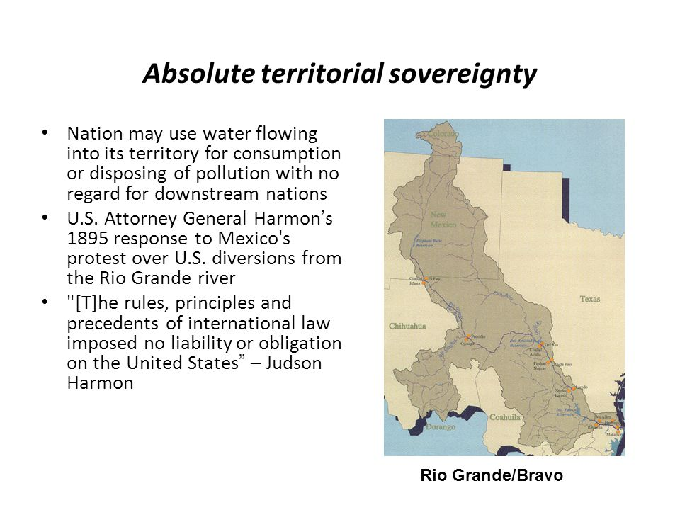 Absolute territorial sovereignty