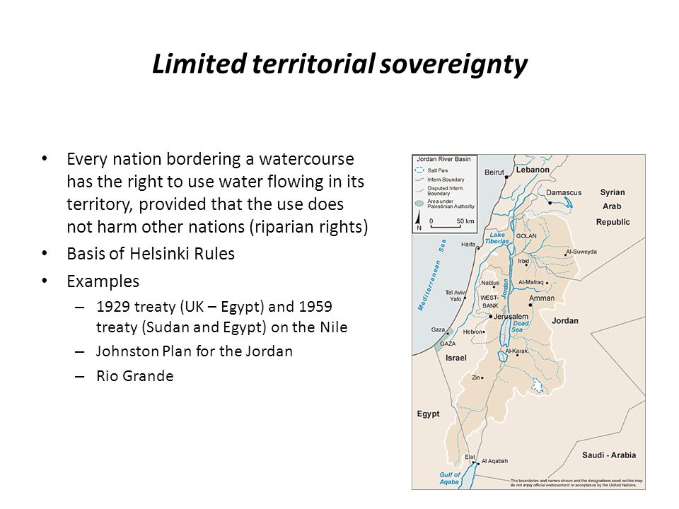 Limited territorial sovereignty