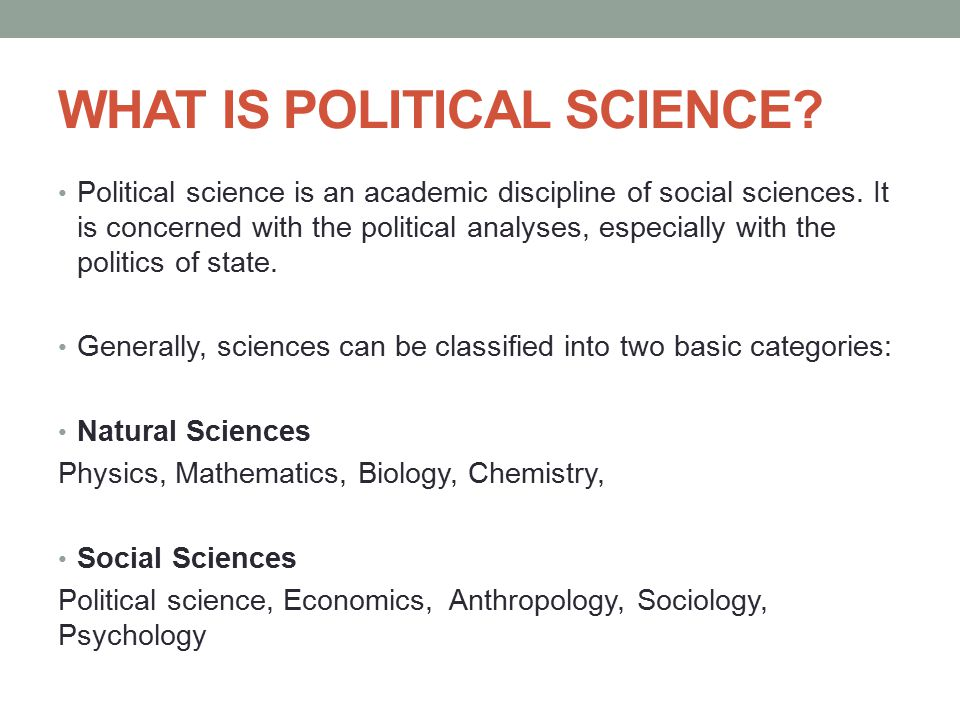 Importance of Political Science: Educate Yourself