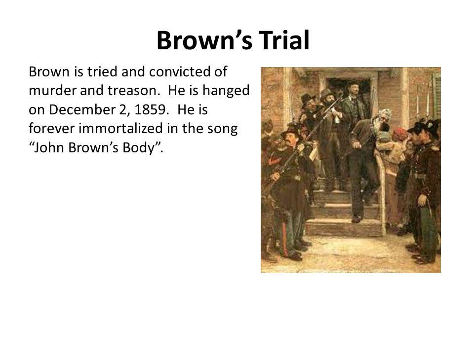 Brown's Trial