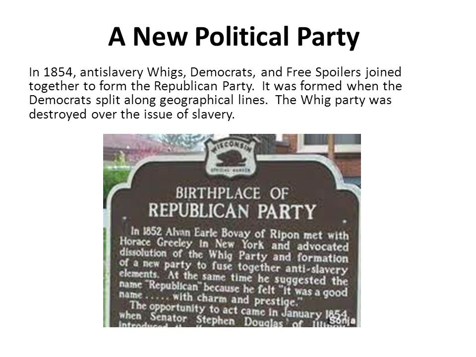 A New Political Party