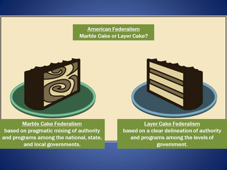 Marble Cake or Layer Cake