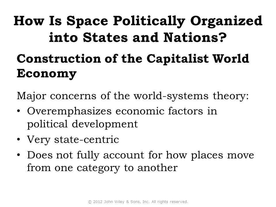 Construction of the Capitalist World Economy