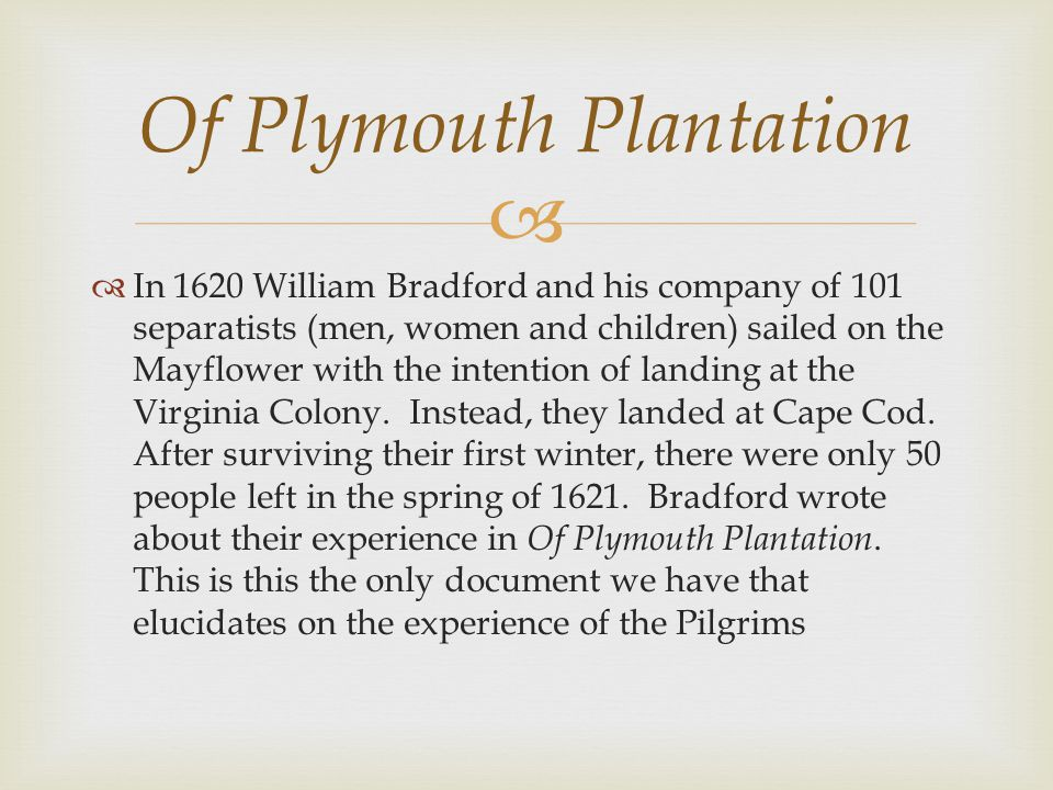 william bradford of plymouth plantation biblical references This beautiful tradition rooted in the biblical heritage of  references governor william bradford's thanksgiving proclamation, plymouth plantation,.