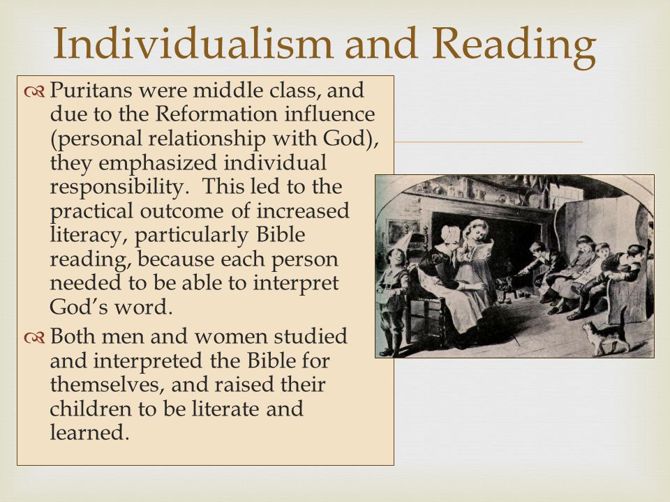 Individualism and Reading