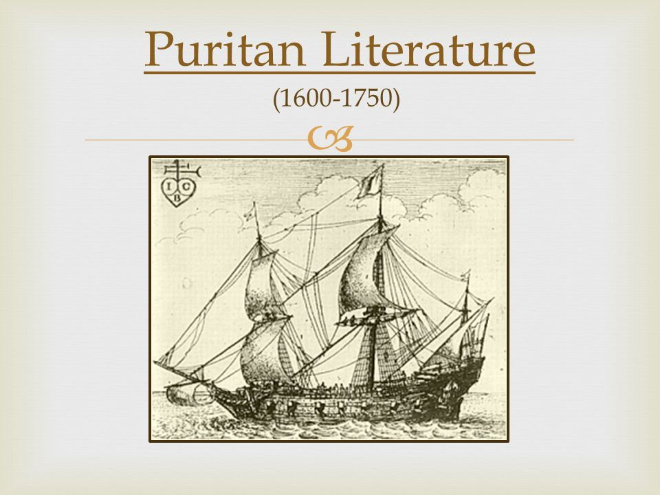 Puritanism in American Literature